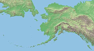 Usa Relief Map Collection Catalog State Of Alaska