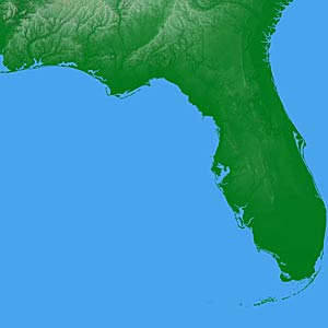 State Of Florida Map.Usa Relief Map Collection Catalog State Of Florida